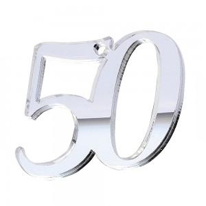 """PEND-NUMERO""""50"""" CM 4H PLEX SPECCH-ARG (SFUSO IMBUST.)"""