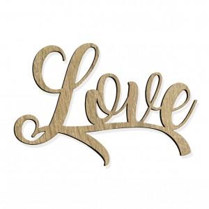 """SCRITTA """"LOVE"""" CM 15 LEGNO (SFUSO IMBUST.)"""