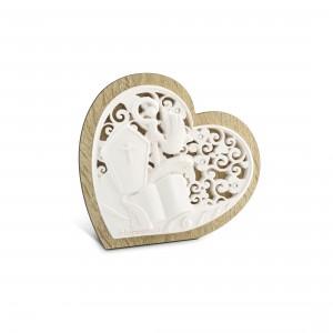 Icona piccola a forma di cuore Cresima
