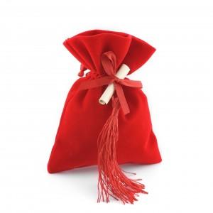 Sacchetto rosso laurea
