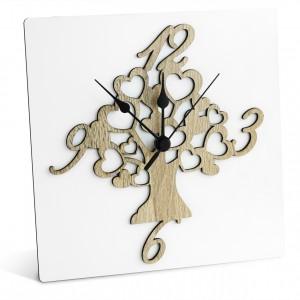 Orologio da parete con albero della vita