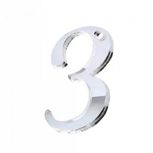 """PEND-NUMERO""""3"""" CM 4H PLEX SPECCH-ARG (SFUSO IMBUST.)"""