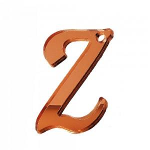 """PEND-LETTERA """"Z"""" CM 4H PLEX SPECCH-RAME (SFUSO IMBUST.)"""