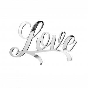 """SCRITTA """"LOVE""""CM 15 PLEX SPECCH-ARG (SFUSO IMBUST)"""