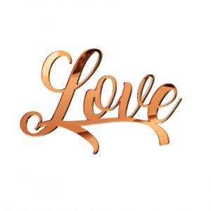 """SCRITTA """"LOVE""""CM 15 PLEX SPECCH-RAME (SFUSO IMBUST)"""