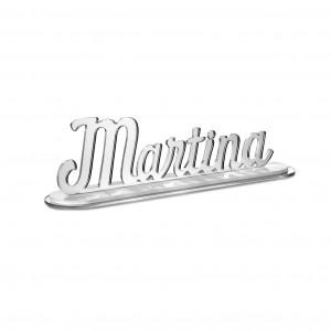 SCRITTA/CON BASE*MARTINA*CM20,PLEXI SPECCH/ARG