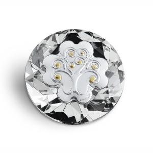 Diamante cristallo con albero della vita